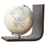 Columbus Royal globe bookend, TING compatible