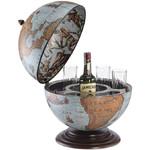 Globe de bar Zoffoli Nettuno Blue Ocean 40cm