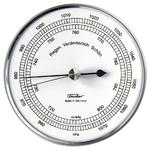 Eschenbach Weather station 528201 aneroid barometer, stainless steel