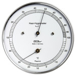 Eschenbach Weather station 528203 thermo-hygrometer, stainless steel