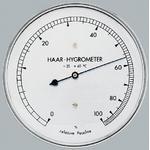 Eschenbach Estação meteorológica Higrômetro de cabelo legítimo 56617