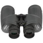 Okulary posiadają oddzielną regulację ostrości. Gumowe muszle oczne zapewniają komfortowe obserwacje.