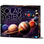 HCM Kinzel 3D Solar System mobile construction kit - illuminated