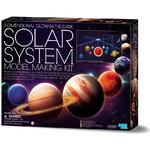 HCM Kinzel Bausatz Sonnensystem Mobile Bastelset 3D - leuchtend