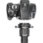 Ora basta collegare il tutto alla vostra fotocamera e sarete già ben attrezzati per l'astrofotografia.