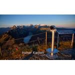 idee-Concept Telescoop Bijkomende kosten voor 360° voetstuk in roestvrij staal