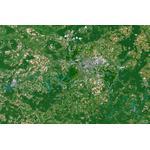Planet Observer regiokaart Berlijn en omgeving
