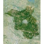 Planet Observer Mapa regional Brandenburgo pelo 'Observador do planeta'