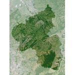 Carte régionale Planet Observer Planète Observer Rhénanie-Palatinat