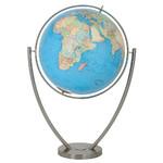 Globe sur pied Columbus Duo Magnum Acier Inoxydable (Anglais) 77cm