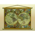 Zoffoli Antique map (reproduction) No. 323/2