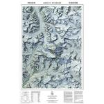 National Geographic Regional map Mount Everest / Himalayas