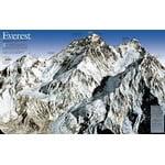 National Geographic Mapa Mount Everest, aniversario 50 - de dos caras