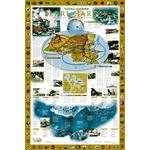 National Geographic Landkarte Pearl Harbor / Drama im Pazifik - 2-seitig