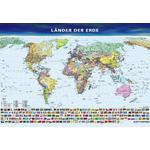 Klett-Perthes Verlag Mapa mundial Os países da Terra
