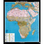 Klett-Perthes Verlag Continent map Africa landscapes