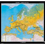 Klett-Perthes Verlag Continent map Europe landscapes
