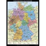 Klett-Perthes Verlag Landkarte Deutschland politisch, groß
