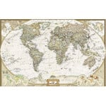 "National Geographic Antique map of the world ""Executive"""