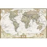National Geographic Mapa mundial antigo