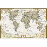 National Geographic World map Executive (117x76cm)