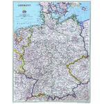 National Geographic Mapa Niemiec