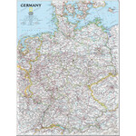 National Geographic Allemagne-carte