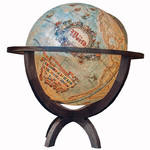 Globe sur pied Columbus Imperial Vintage 100cm (English)