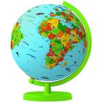 Columbus Globo terráqueo WAS IST WAS - Globus mit Weltatlas 472619SET
