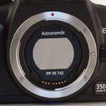 Astronomik IR ProPlanet 742 bandpass filter, EOS clip filter