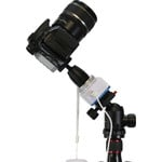 Die Basisplatte des Nanotrackers führt Ihre Kamera exakt in siderischer Geschwindigkeit dem Sternenhimmel nach.