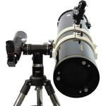 Pode acoplar dois telescópios totalmente diferentes na mesma montagem.