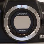 Astronomik Filtre à bande passante IR ProPlanet 807, filtre en clip EOS