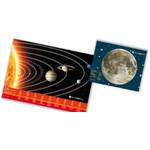 Bresser Junior Astroset: Poster und Schreibtischunterlage