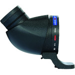 Lens2scope Luneta , 7mm camp larg, pentru obiective Nikon, negru, ocular inclinat