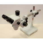 Hund Wiloskop stereo microscope - F Zoom with ST base - S, trinocular