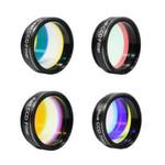 """ZWO Jeu de filtres LRGB, diam. 31,75mm (1,25"""")"""