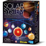 HCM Kinzel Planetario Glow Solar System Mobile Making Kit