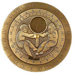 Columbus Planetarium Annular Lunar calendar