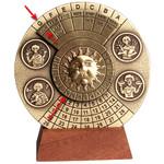 Columbus Planetarium Disc perpetual calendar