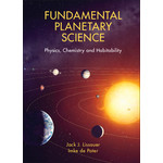 Cambridge University Press Libro Fundamental Planetary Science