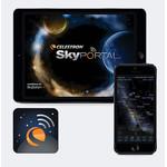 La app SkyPortal di Celestron funge allo stesso tempo sia da planetario che da comando per il telescopio.