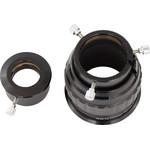 A l'aide des trois vis de serrage vous pouvez fixer votre oculaire de diamètre 50,8mm (2
