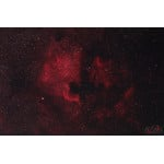 Example exposure: NGC7000, the North America Nebula in the constellation Cygnus
