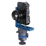 Anwendungsbeispiel (Kamera, Winkelschiene und Schnellwechselkupplung nicht im Lieferumfang)