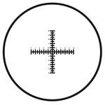 Motic Réticule croisé double graduation pour oculaire (10mm en 100 parties), (Ø25mm)