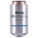 Motic CCIS obiettivo Plan Acromatico per contrasto di fase positivo EC-H PLPH 40x/0,65 (molla) (AA = 0,5 mm)