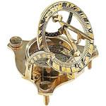 St.Leonard Messing-Sonnenuhr mit Kompass