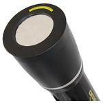 Il filtro solare Omegon applicato all'obiettivo. Tutto è pronto per l'osservazione solare.