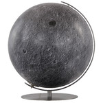 Columbus Globo Moon globe, 40cm, hand finished